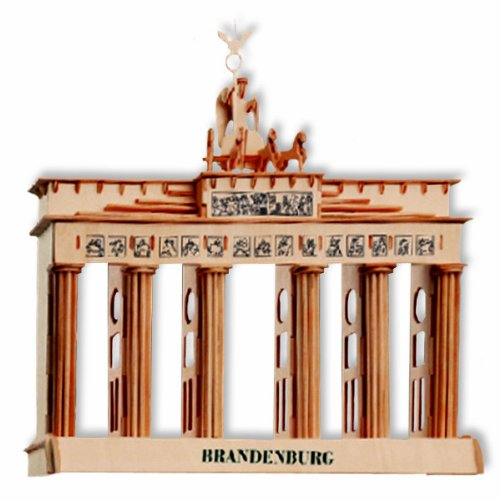 3-D Wooden Puzzle - Brandenburg -Affordable Gift for your Little One! Item #DCHI-WPZ-P078