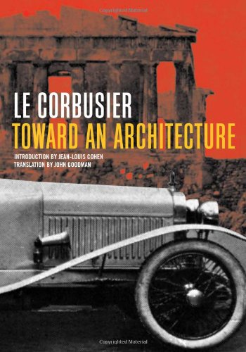Toward an Architecture (Getty Research Institute)