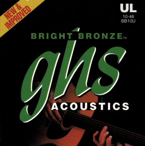 GHS Strings Acoustic Guitar Set (Ultra Light,