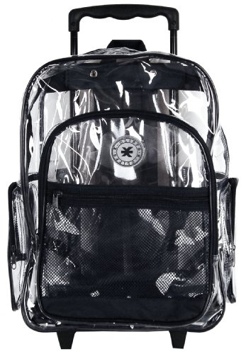 K Cliffs Rolling Transparent Multi pockets Backpack