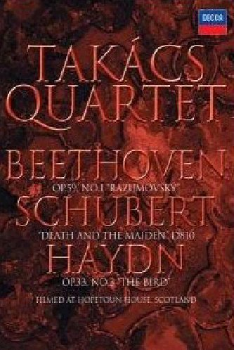 Schubert - Death and the Maiden (Takacs Quartet) [DVD] [2006]