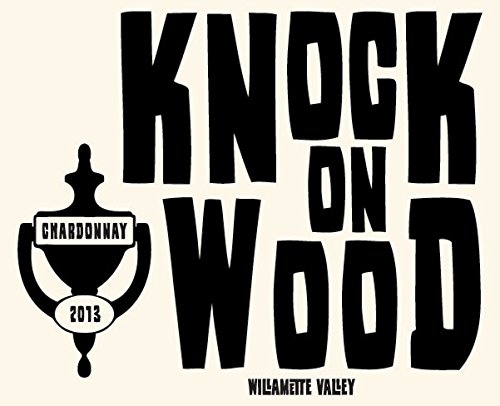 "2013 Mouton Noir ""Knock On Wood"" Willamette Valley Chardonnay 750 Ml"