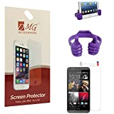 DMG Pack Of 2 Matte Screen Protector For Micromax Canvas Doodle 3 A102 + Mobile Holder Hand Stand