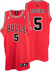 NBA Chicago Bulls Red Swingman Jersey Carlos Boozer #5 by adidas