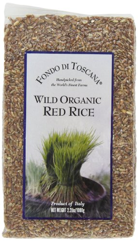 Fondo di Toscana Wild Organic Red Rice, 2.2 Pound