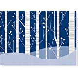 White Birches Holiday Boxed Cards (Christmas Cards, Holiday Cards, Greeting Cards) (Deluxe Boxed Holiday Cards)