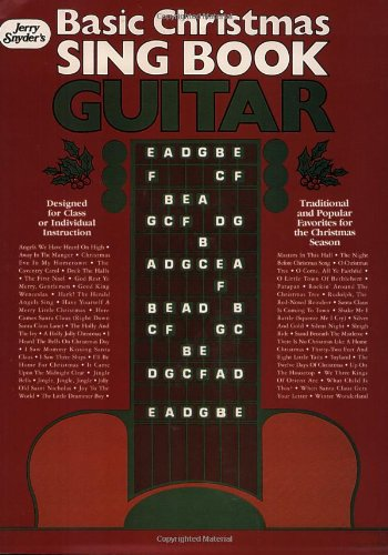 Basic Christmas Sing Book: Guitar