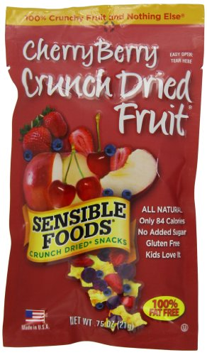 sensible foods crunch dried snacks cherry berry 0 75 ounce pouches pack of 24 rafael cardoso nas sensible foods crunch dried snacks cherry berry 0 75 ounce pouches pack of 24 rafael cardoso nas