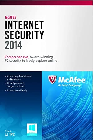 McAfee Internet Security 1PC 2014
