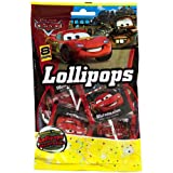 Disney Cars Party Lollipops, 8 Lollipops Per Bag