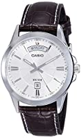 Casio Enticer Analog Silver Dial Men's Watch - MTP-1381L-7AVDF (A845)