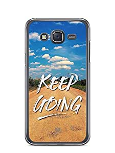 YuBingo Keep Going Designer Mobile Case Back Cover for Samsung Galaxy J5