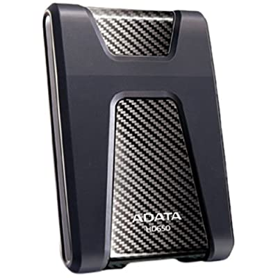 Adata Dashdrive HD650 1TB Portable External Hard Drive (Black)