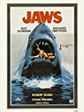 Jaws Poster Art Print (MSP007)