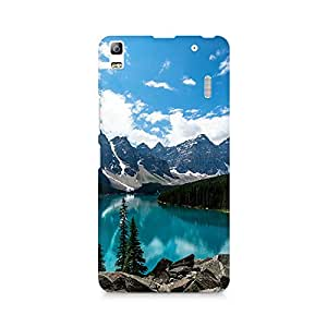 Mobicture Mountain River Premium Printed Case For Lenovo A7000
