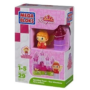 Mega Bloks MB Little Princess Sparkling Tower