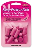Sleep Pretty In Pink  Women's Ear Plugs, 14-Pair (Pack of 3)