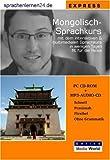 echange, troc Udo Gollub - Sprachenlernen24.de Mongolisch-Express-Sprachkurs CD-ROM für Windows/Linux/Mac OS X + MP3-Audio-CD für Computer/MP3-Player/MP