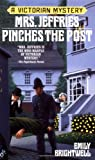 Mrs. Jeffries Pinches the Post (0425180042) by Brightwell, Emily