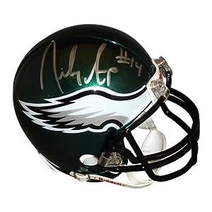 Riley Cooper Autographed Philadelphia Eagles Mini Helmet by PalmBeachAutographs.com