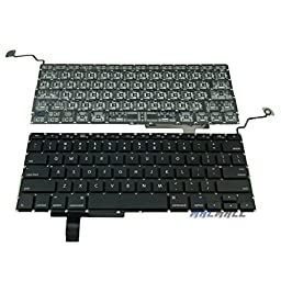 SEENIGHT® Laptop US Layout Keyboard Black fits MacBook Pro 17\