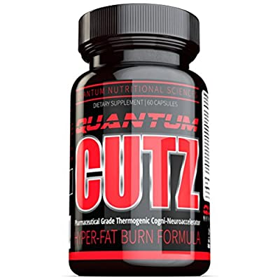 Quantum Cutz (60ct) - The #1 Best Fatloss Diet Pills & Weightloss Thermogenic Fat Burner, The Best Fat Burner That Increases Metabolism, Energy, and Mental Focus with Weightloss. The Only Thermogenic with Optimal Fat-loss Plus Nootropic Properties. New Fo
