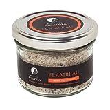 Flambeau Jar - Black Peppercorn - Gourmet Dead Sea Salt (8.1 oz)