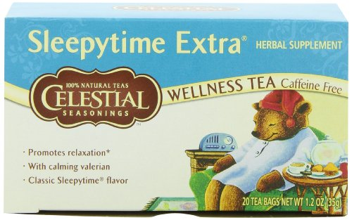 Celestial Seasonings Sleepytime Herbal Tea Caffeine Free - 20 Tea Bags
