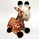 "Cuddle Barn ""Twiggy the Giraffe"" Animated Educational Press-Activated Talking Doll: Tells Interesting Facts About Giraffes"