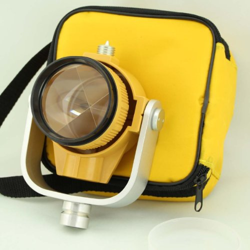 Single Prism With Bag For Total Station Yellow Colour