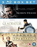 3 Film Box Set: Gladiator/Spartacus/Robin Hood [Blu-ray]