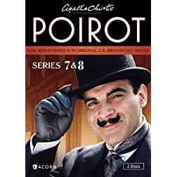 Agatha Christie's Poirot: Series 7 & 8