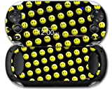 Sony PS Vita Skin Smileys on Black by WraptorSkinz