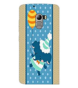 PrintDhaba Cartoon D-5807 Back Case Cover for LENOVO VIBE X3 LITE (Multi-Coloured)