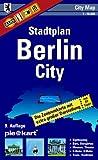 Berlin City 1 : 10.000 Stadtplan: Detaillierte Zentrumkarte mit Sightseeing-Tipps, Museen, Theatern, Bars, �PNV, Stra�enverzeichnis.
