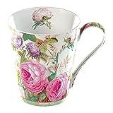Creative Tops 1-Piece Fine Bone China V&A Brompton Rose Mug in a Gift Box Pink