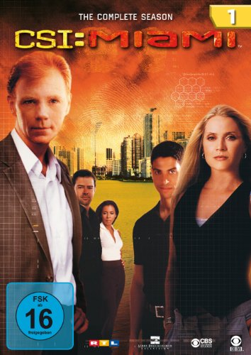 CSI: Miami - Die komplette Season 1 [6 DVDs]