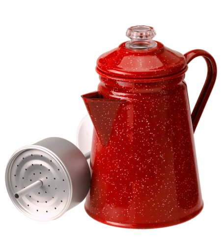 GSI Outdoors 8 Cup Percolator, Red #01254