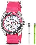 Nautica Unisex N11594G Sport Ring Classic Analog with Enamel Bezel Watch