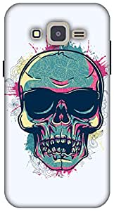 The Racoon Grip printed designer hard back mobile phone case cover for Samsung Galaxy J2. (Tripster S)