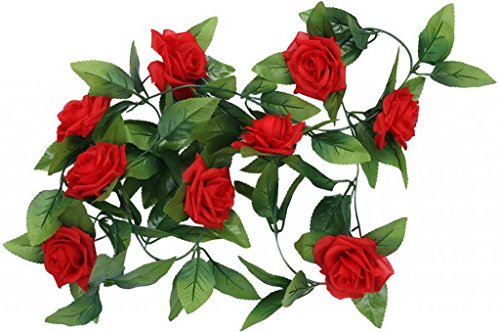 EOZY Bouquet Fleur Artificielle en Coton Décoration Mariage Fête Carnaval (1)