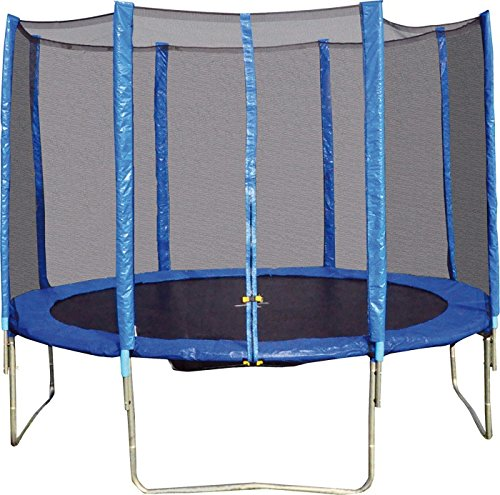 """Trampolin """"Lukas"""" Lukas ist der Größte: 360 cm Durchmesser bei 80 cm Höhe (ohne Netz) und vier stabile Füße erlauben eine Belastung von bis zu 200 kg (inklusive Netz) jetzt kaufen"""