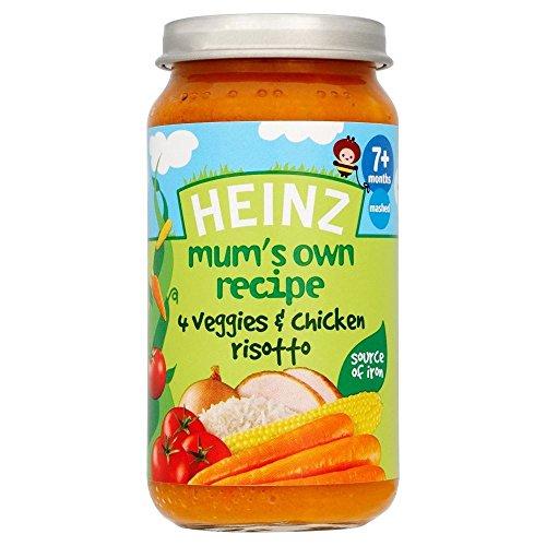 Heinz Mum'S Own Recipe 4 Veggies & Chicken Risotto 7Mth+ (200G) front-876123
