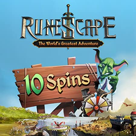 10 Squeel of Fortune Spins: RuneScape [Game Connect]