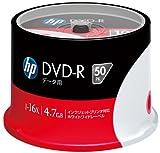 HP データ用DVD-R 4.7GB 16倍速対応 ホワイトワイドプリンタブル 50枚スピンドル DVD-R4.7HPWBX50SA