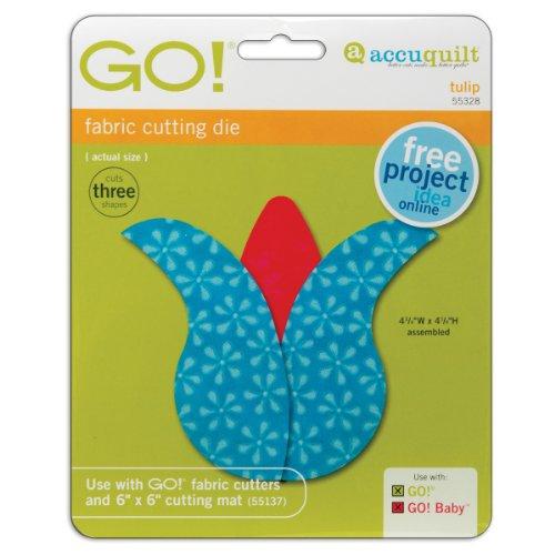 Accuquilt Go! Baby Fabric Cutting Dies; Tulip front-314146