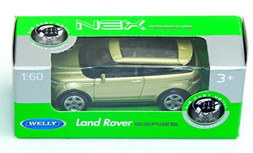 Land Rover Range Rover Evoque Green 1:60 Welly (2015 Range Rover Model compare prices)