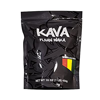 KAVA WAKA powder -1 LB- Fijian High Quality Kava