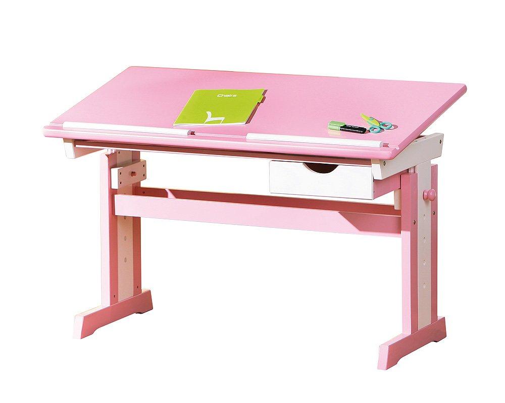 Links 99800350 Kinderschreibtisch Schülerschreibtisch Schreibtisch Kinderzimmer Tisch, rosa günstig kaufen