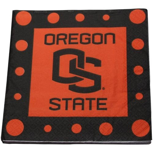 NCAA Oregon State Beavers 16-Count Luncheon Napkins - 1